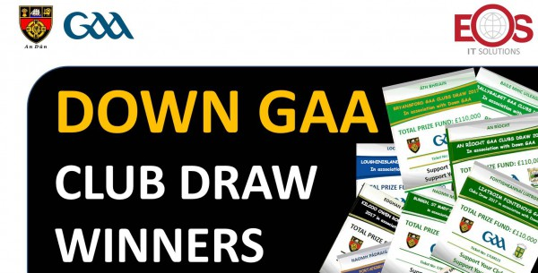 September 2017 Down GAA Club Draw Winners