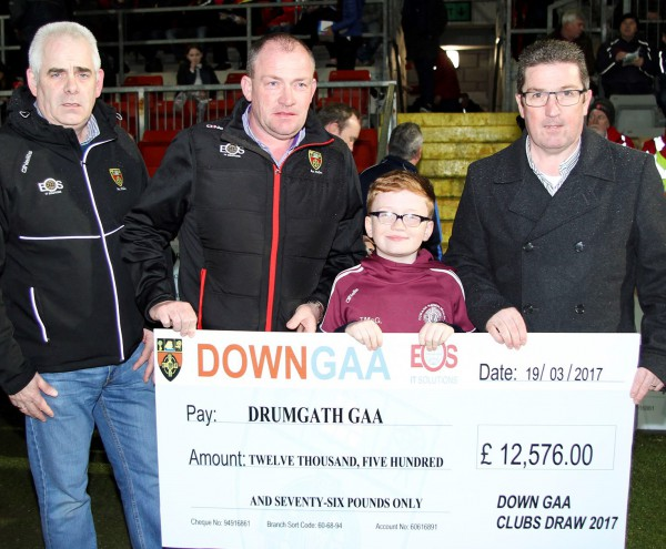 OVER 5500 TICKETS SOLD IN THE 2017 DOWN GAA CLUBS DRAW