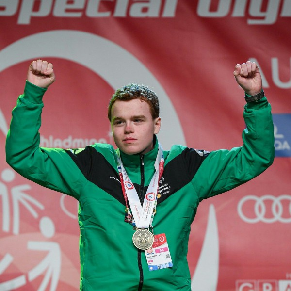 Carryduff's Sean McCartan helps Team Ireland open account at Special Olympics World Winter Games