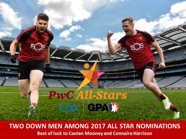 Two Down men among 2017 All Star nominations