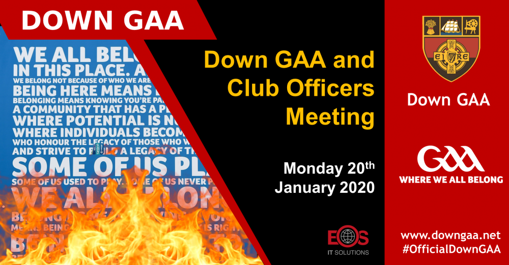 Down GAA and Club Officers Meeting