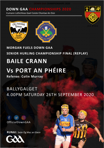 Download your SHC Replay Programme between Ballycran and Portaferry